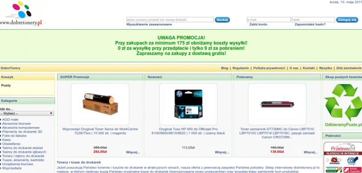 Dobretonery.pl