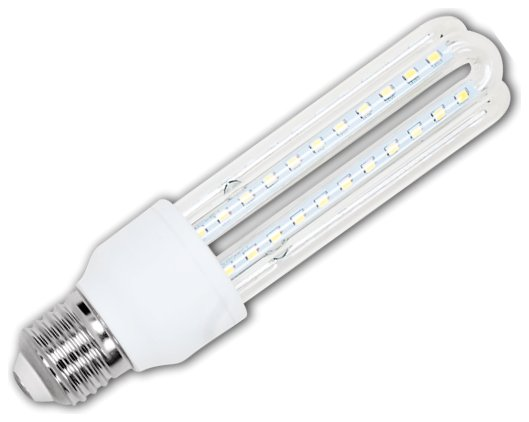 Żarówka LED B5 T3 3U E27 3000K, 12W, 960lm, walec, światło białe ciepłe, 15000h