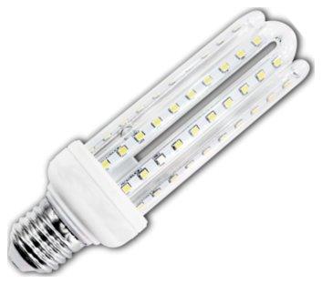 Żarówka LED B5 T3 4U E27 3000K, 15W, 1200lm, walec, światło białe ciepłe, 15000h