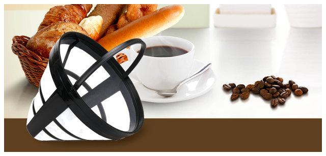 Ekspres przelewowy do kawy lub herbaty Aigostar, 1000W, 1250ml, czarny