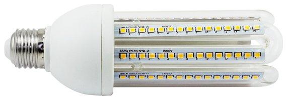 Żarówka LED B5 T4 4U E27 6000K, 23W, 2030lm, walec, światło białe zimne, 15000h