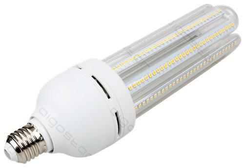 Żarówka LED B5 T5 4U E27 6400K, 38W, 3660lm, walec, światło białe zimne, 15000h