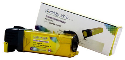 Toner Cartridge Web Yellow Dell 2130 zamiennik 593-10314/330-1391, 2500 stron