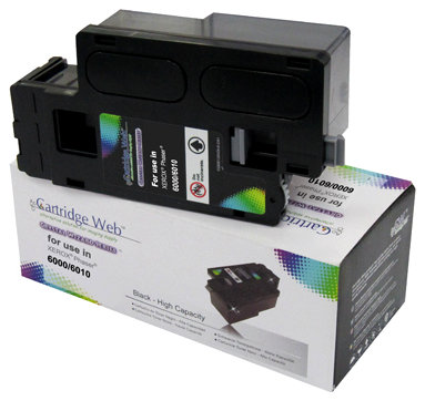 Toner Cartridge Web Black Xerox 6000/6010 zamiennik (region 3) 106R01634, 2000 stron