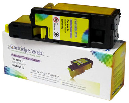 Toner Cartridge Web Yellow Xerox 6000/6010 zamiennik (region 3) 106R01633, 1000 stron