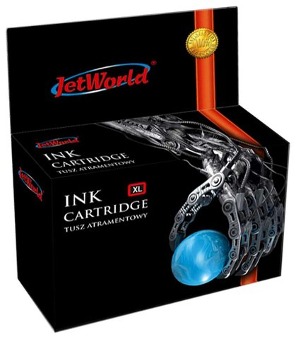 Tusz JetWorld  Cyan Brother LC 525C zamiennik LC525XLC, 15 ml