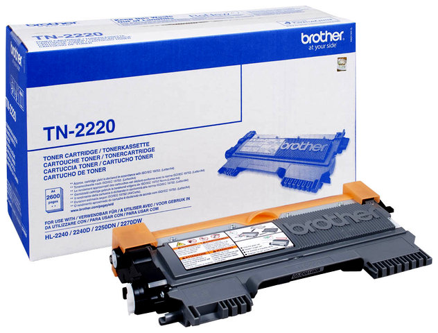 Oryginał Toner Brother do HL-2240/2250DN/2270DW | 2 600 str.