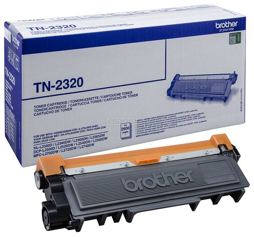 Oryginał Toner Brother do HL-2300, DCP-L2500, MFC-2700 | 2 600 str. | czarny black