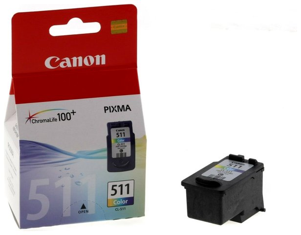 Tusz Canon  CL-511 do MP240/MP250/MP260/MP270/MX320 color