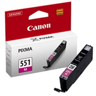 Oryginał Tusz  Canon CLI551M do  iP-7250, MG-5450/6350 | 7ml |  magenta