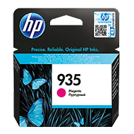 Oryginał Tusz HP 935 do Officejet Pro 6230/6830 | 400 str. | magenta