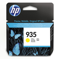 Oryginał Tusz HP 935 do Officejet Pro 6230/6830 | 400 str. | yellow