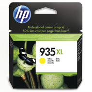 Oryginał Tusz HP 935XL do Officejet Pro 6230/6830 | 825 str. | yellow