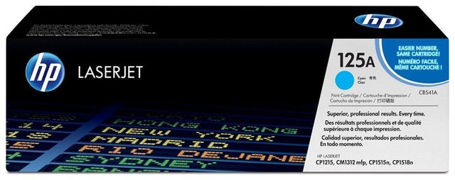 Oryginał Toner HP 125A do Color LaserJet CP1215/1312/1515 | 1 400 str. | cyan