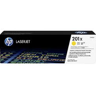 Oryginał Toner HP 201X do Color LaserJet Pro M252 M274 M277 | 2 300 str. | yellow