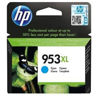 Oryginał Tusz HP 953XL do OfficeJet Pro 8210/8710/8715/8720/8725 | 1 600 str. | cyan