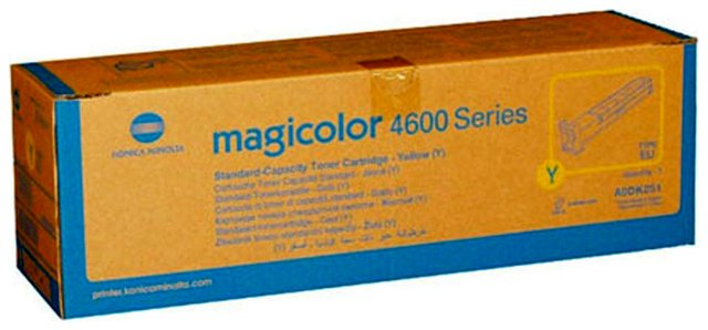 Toner Minolta MC 4600 / 4650 / 4690 / 4695 yellow 4000 stron