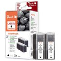 Peach Twin Pack, 2 ink cartridges black, z chipem, kompatybilny z No. 100XL, 14N1092