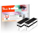 Peach Twink Pack XL Ink Cartridge black, kompatybilny z PGI-1500, PGI-1500BK XL